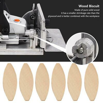 100pcs Wood Biscuits, Joining, Jointing, Worktop, Kitchen, Hardwood,Joinery • 6.63£