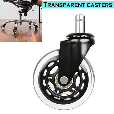 AU16.40 • Buy 2.5 Universal Office Desk Chair Wheel Swivel Caster Furniture Replacement Roller