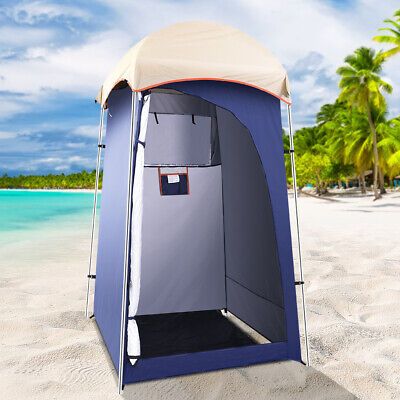 AU58.85 • Buy Weisshorn Camping Shower Tent Outdoor Portable Changing Room Toilet Ensuite Navy