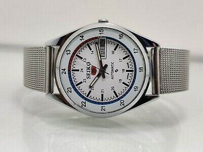 $ CDN38.11 • Buy Vintage Seiko 5 Automatic Stainless Steel Movement No.6309 Day-Date Men's Watch