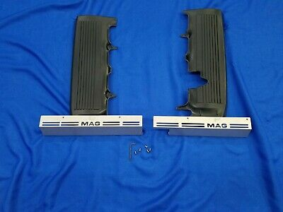 $54.90 • Buy Ford Mustang 05-09 Raw V8 Fuel Rail Covers And Mounts NOS