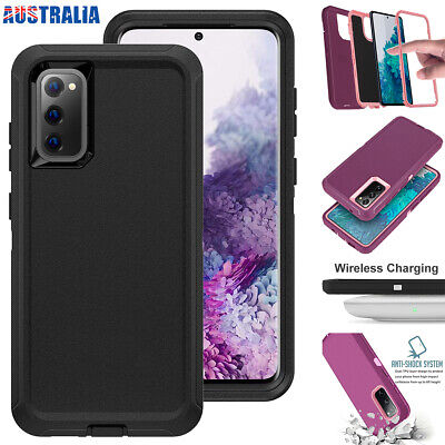AU12.95 • Buy For Samsung Galaxy S20 FE 5G Case Tough Rubber Heavy Duty Shockproof Armor Cover