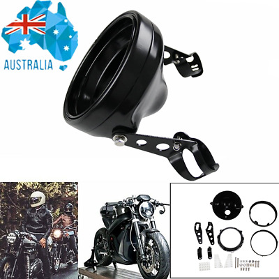 AU61.92 • Buy 7 Inch LED Headlights Shell Housing Bucket For Harley Motorcycle Headlamp Cover