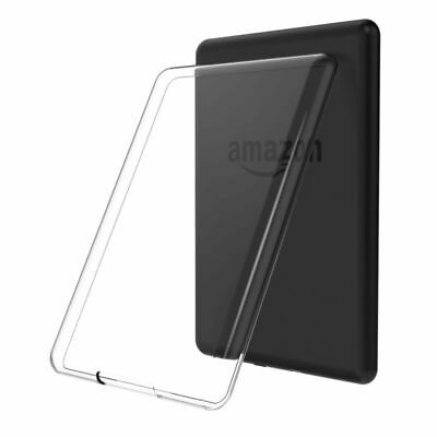 Fits Amazon Tablets Slim Clear TPU Cover Shell Transparent Soft Silicone Case UK • 3.99£