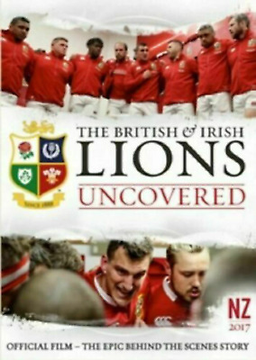 £2.50 • Buy BRITISH IRISH & LIONS UNCOVERED DVD New Zealand 2017 Official Film NEW SEALED
