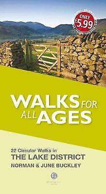 Walks For All Ages Lake District, Buckley, Norman,  Paperback • 5.56£