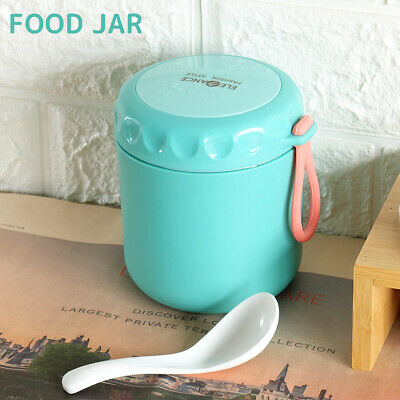 AU17.99 • Buy Food Jar Thermos Insulated Kids Lunch Box Students Leakproof Container 430ml