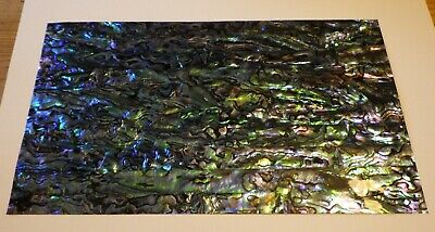 Paua / Abalone    Shell Laminate 4 Inlay - Luthier 9 X 5 Inches  • 22£