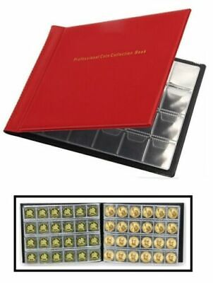 £3.65 • Buy 60, 96, 240 Coin Collection Holders Storage Collecting Money Penny Pockets Album