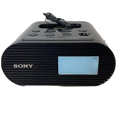 AU19.68 • Buy Sony Genuine Alarm Clock Radio AM/FM With Apple IPod & IPhone Dock  ICF-C05iP A4