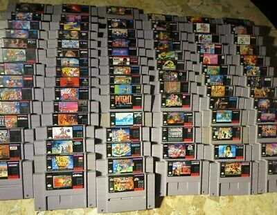 $ CDN41.90 • Buy Super Nintendo SNES Games LOT ✨USA Authentic✨ Quality Titles! ✨ BUY MORE & SAVE