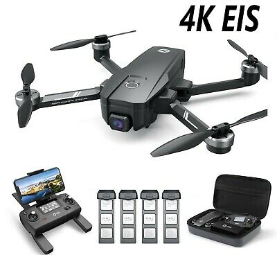 Holy Stone HS720E HS105 4K EIS Camera Drone Brushless GPS FPV Selfie Quadcopter • 189.36£