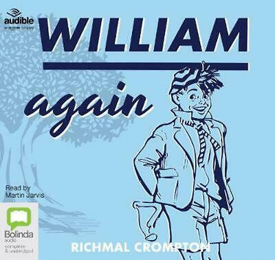 William Again By Richmal Crompton (English) Compact Disc Book Free Shipping! • 17.99£