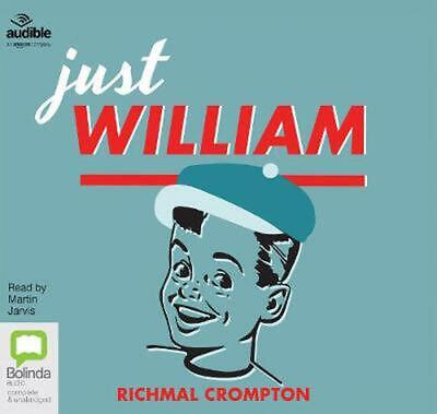 Just William By Richmal Crompton (English) Compact Disc Book Free Shipping! • 17.49£
