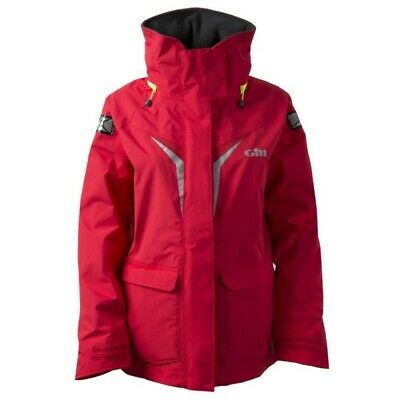 Gill Red OS3 Women's Coastal Jacket • 148£