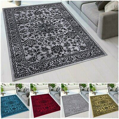 New Floral Design Area Rugs Living Room Bedroom Carpets Door Mat Hallway Runner  • 46.97£