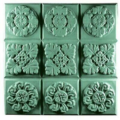 $8.99 • Buy Gothic Florals Soap Mold Tray By Milky Way Molds - MW11