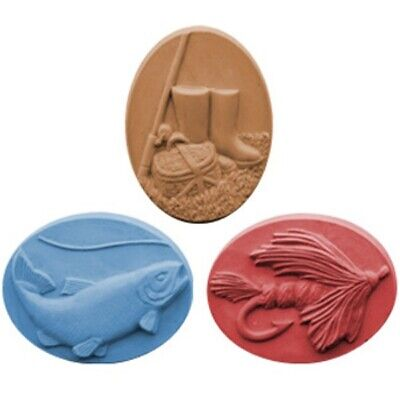 $8.99 • Buy Gone Fishing Soap Mold By Milky Way Soap Molds - MW80