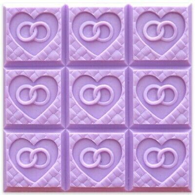 $8.99 • Buy Wedding Weave Soap Mold Tray By Milky Way Molds - MW108