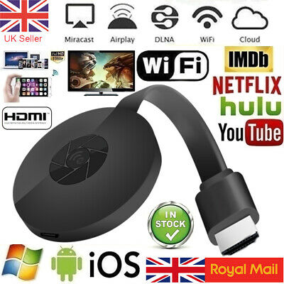 Wifi Wireless HDMI Mirror Screen Display Adapter For 1080P TV Miracast Dongle • 12.49£
