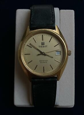 TISSOT WATCH SEASTAR Vintage , Quartz On Leather Strap Beautiful Condition 40222 • 145£