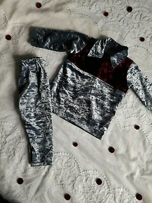 New Baby Girl Boy Soft Grey Maroon Crush Velvet Party Winter Shirt Trousers Suit • 13.99£