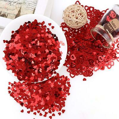 £2.32 • Buy Heart Table Confetti Wedding Ruby Anniversary Engagement Party Decorations UK NW