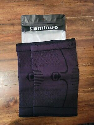 $9.95 • Buy CAMBIVO 2 Pack Knee Compression Sleeve, Knee Brace Support For Men And Women