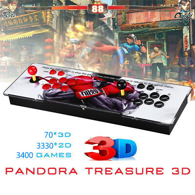 AU224.99 • Buy 3400 In 1 Pandora's Box WIFI Retro Video Games 4 Players Arcade Console For PC