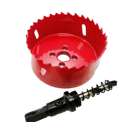 15-200mm Metal M42 HSS Hole Saw Cutter Drill Bit For Aluminum Iron Pipe Wood • 16.02£