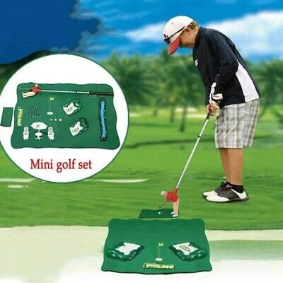 Mini Golf Club Games Toy Mini Golf Set For Children Indoor Golf Game Playing • 19.85£