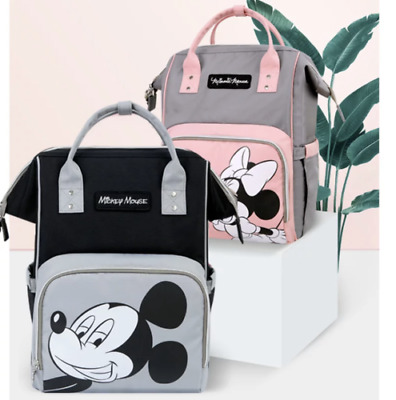 2020 Disney Diaper Nappy Maternity Bag Minnie And Mickey Mouse • 34.88£