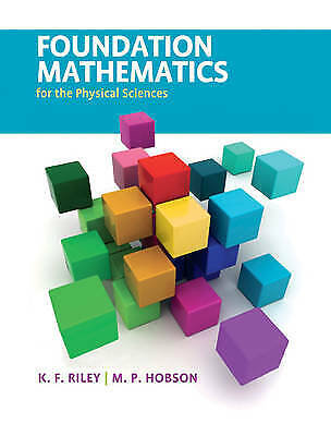 £45.15 • Buy Foundation Mathematics For The Physical Sciences, Riley, K. F. (University Of Ca