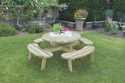 Circular Picnic Table With/Without Seat Back • 451.99£