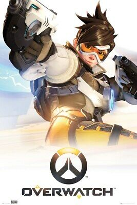 AU22.75 • Buy Overwatch Poster Key Art 61x91.5cm