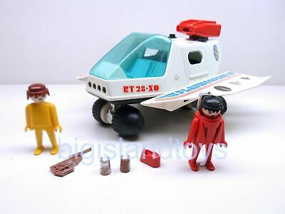 Playmobil System Schaper 1980 Playmo Space Shuttle RT-28-XO And Figures  • 14.29£