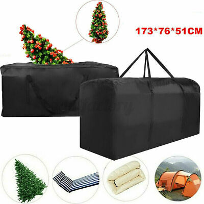 Extra Large Xmas Tree Storage Bag For Christmas Tree Decoration Zip Up Bag,173cm • 13.39£