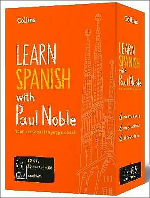 Learn Spanish With Paul Noble For Beginners - Complete Course, Noble, Paul,  CD • 29.82£