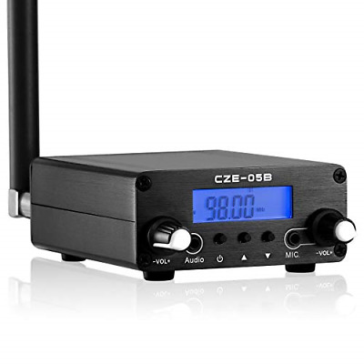 $101.76 • Buy 0.5W 76MHz~108MHz FM Transmitter Stereo Broadcast Station For Drive-in Church