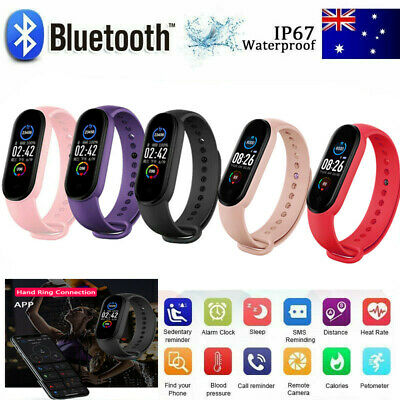 AU16.67 • Buy M5 Smart Watch Band Sport Activity Fitness Tracker For Kids Fit Bit Android IOS