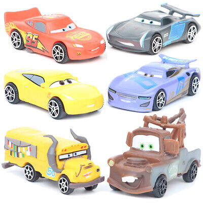 Cars Lightning McQueen Mater 6pcs/set Action Figure Kids Toy Gift Cake Topper • 9.71£