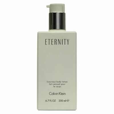 Calvin Klein Eternity For Women Luxurious Body Lotion 200ml With Pump • 24.95£
