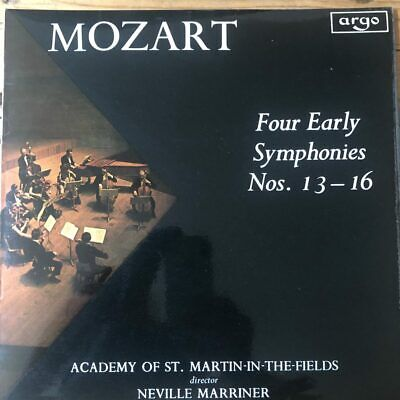 ZRG 594 Mozart Four Early Symphonies Nos. 13-16 / Marriner / ASMF OVAL • 30£