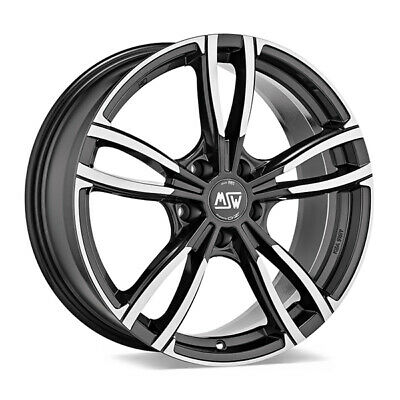 AU454.80 • Buy ALLOY WHEEL MSW 73 AUDI A7 Sportback Staggered 8x19 5x112 ET 27 GLOSS DARK G 6e1