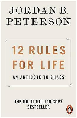 AU20 • Buy 12 Rules For Life By Jordan B Peterson