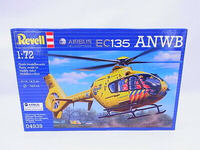 Lot 69247 Revell 04939 Airbus Helicopters EC135 Anwb 1:72 Kit New Boxed • 7.69£