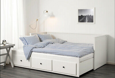 IKEA Hemnes Day Bed 3 Drawers. 2 Malfors Mattresses Included. Great Condition.  • 300£
