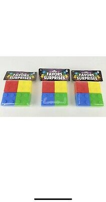 $9.99 • Buy 16 Building Bricks Lego Blocks Hinged Birthday Party Favors Containers Plastic