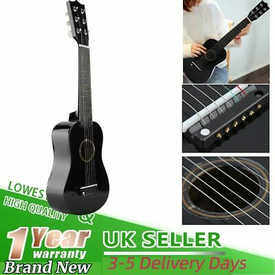 21  Children Kid Wooden Acoustic Guitar Musical Instrument Gift Toy Uk Local • 9.98£