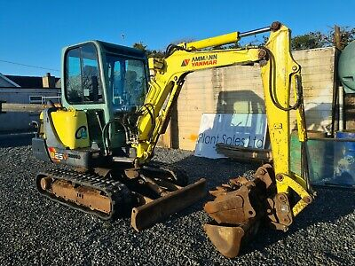 Yanmar B25V Mini Digger Excavator - Year: 2007 - C/w 3 Buckets! - Can Deliver! • 10,450£